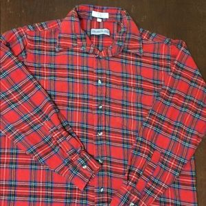 Members only red flannel